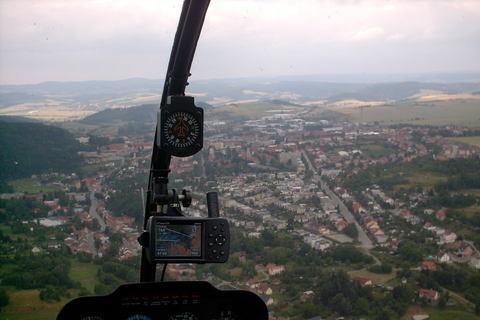 FOTKA - Boskovice z vrtulniku,hodne vysoko