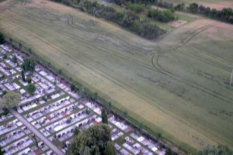 FOTKA - Boskovice z vrtulniku,pole