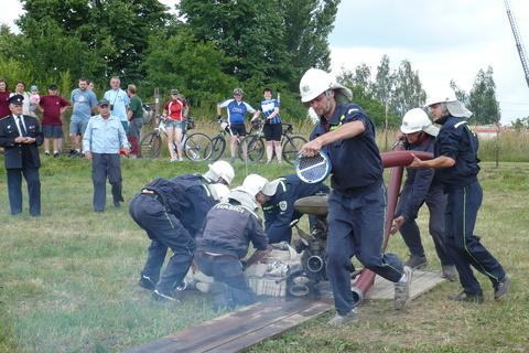 FOTKA - hasičská soutěž-Žernov  28.6.08-po startu