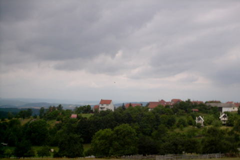 FOTKA - panorama Velenov u Boskovic
