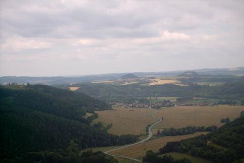 FOTKA - pohled z vrtulniku kolem Boskovic