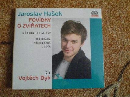 FOTKA - Výhra - CD Jaroslav Hašek - Povídky o zvířatech