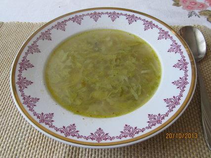 FOTKA - Polévka ze zelí
