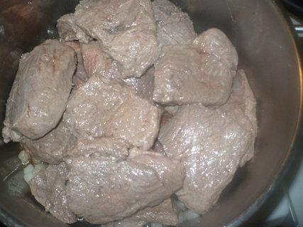 FOTKA - maso na cimrošsko- připravené na vaření