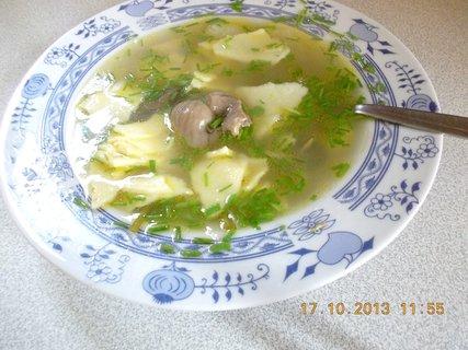FOTKA - 16.10. - 17.10. - 23 - slepičí polévka s domácími nudlemi