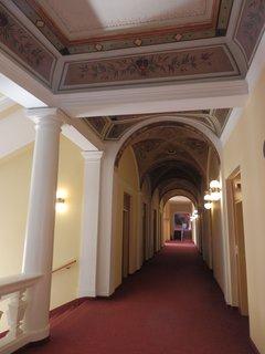 FOTKA - interiéry lázeňského domu Beethoven (Teplice)