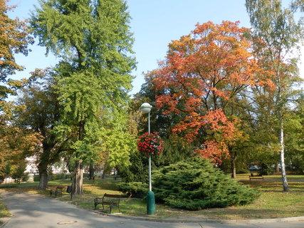 FOTKA - Teplice - podzimní lázeňský park