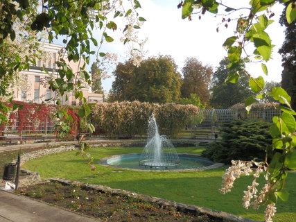 FOTKA - podzimní Teplice, parky a vodotrysky