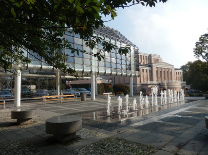 FOTKA - Teplice, to je také množství fontán a vodotrysků