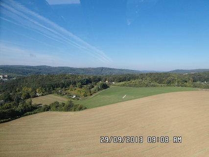 FOTKA - Let vrtulnikem-Brn�nsk� p�ehrada