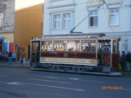 FOTKA - Historická tramvaj