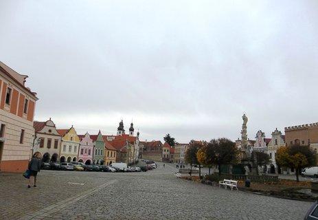 FOTKA - náměstí v Telči .. je krásné