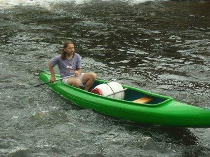 FOTKA - manžel na vodě