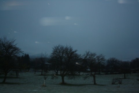 FOTKA - dnešní ráno-sníh