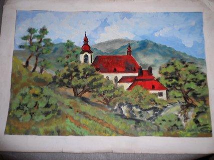 FOTKA - Moje začátky malování-tempera