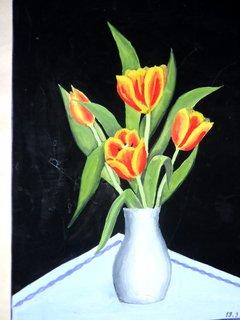 FOTKA - Moje začátky malování-tempera 3