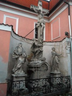 FOTKA - v Č. Budějovicích..socha