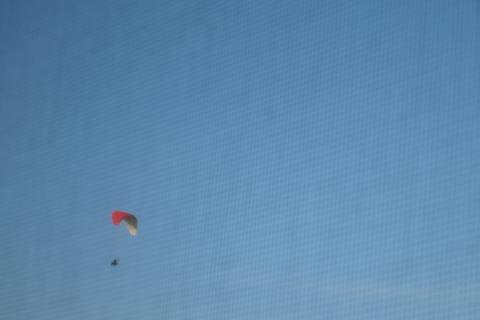 FOTKA - zábavné letání foceno z okna