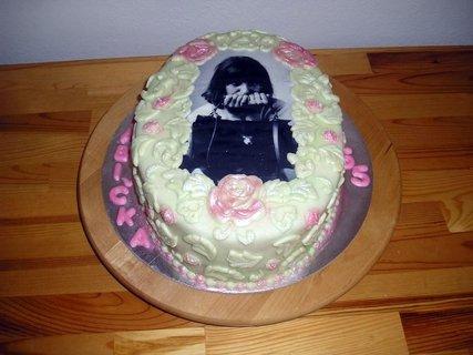 FOTKA - dort s jedlou fotkou