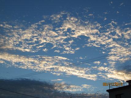 FOTKA - Večerní obloha..