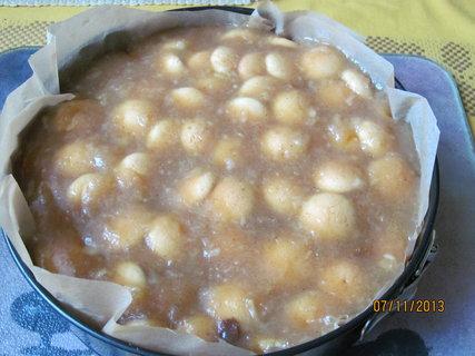 FOTKA - Jablkový dort s piškoty
