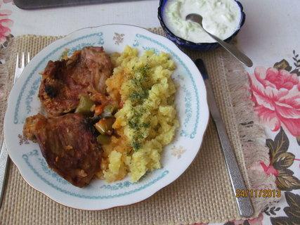 FOTKA - Králík na paprice a brambory