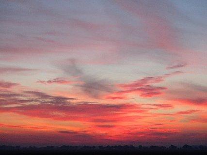 FOTKA - obloha do červena