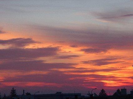 FOTKA - 24.11.2013 obloha do červena