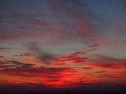 FOTKA - 24.11.2013 obloha ako peklo