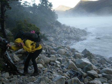 FOTKA - bráchovy fotky z cest - ledovec, Patagonie, Aurora