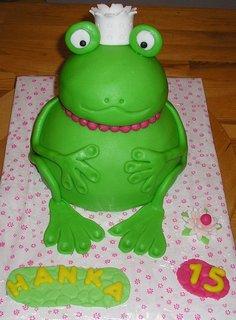 FOTKA - menší žába
