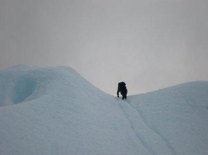 FOTKA - bráchovy fotky z cest - ledovec, Patagonie, Aurora.