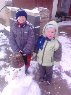 FOTKA - snehuliak :)