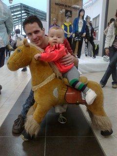 FOTKA - Jsem na koni :-)
