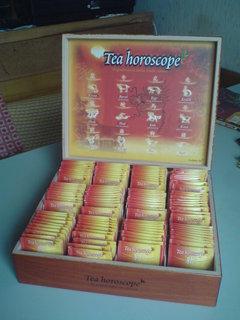 FOTKA - výhra - dárková krabice čajů