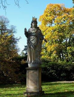 FOTKA - Konopiště - sochy  3