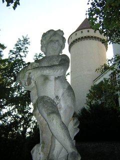 FOTKA - Konopiště - sochy  4