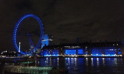 FOTKA - Noční Londýn