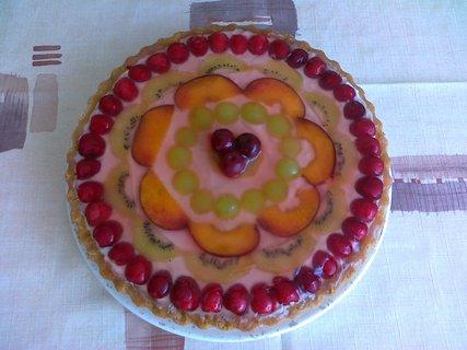 FOTKA - dort ovocný