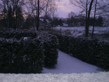 FOTKA - Sněhová nadílka dorazila i k nám
