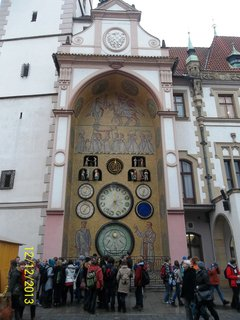 FOTKA - Orloj v Olomouci