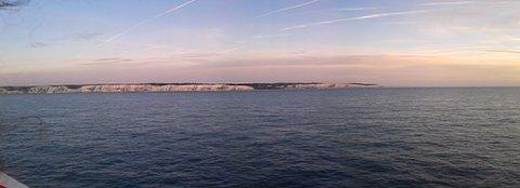 FOTKA - panorama bílých skal