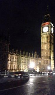 FOTKA - Big Ben v noci