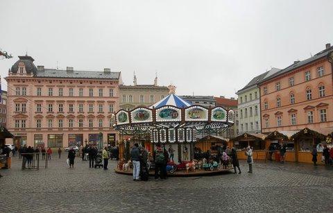 FOTKA - V předvánoční Olomouci. .