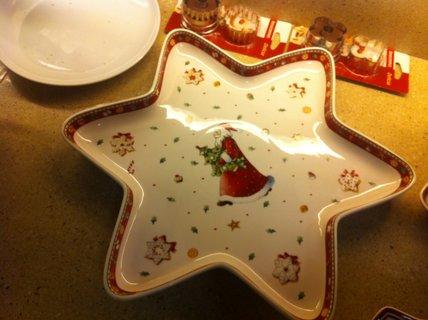 FOTKA - vánoční talíř