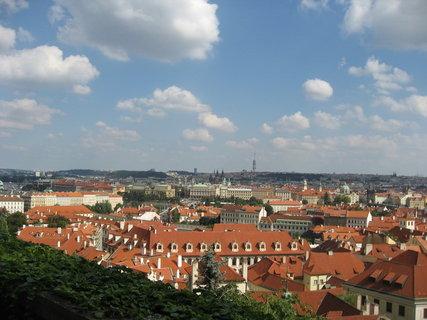 FOTKA - Ze zahrady  Pražského  hradu 3