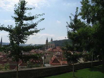 FOTKA - Ze zahrady  Pražského  hradu 4