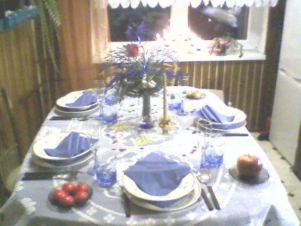 FOTKA - vánoční stůl2