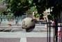Vodotrysk před radnicí v Opavě