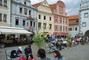 náměstí v Českém Krumlově